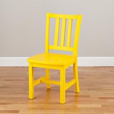 Parker Play Chair (Bright Yellow)  | The Land of Nod