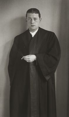Attorney by August Sander August Sander, Documentary Photographers, Portrait Photographers, August Pictures, Call Of Cthulhu Rpg, Black And White People, Gelatin Silver Print, Comme Des Garcons, Street Photography