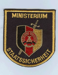 Stasi patch after 1990