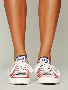 Free People Americana Chucks. the coolest.