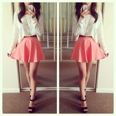 Image discovered by Find images and videos about fashion, style and pretty on We Heart It - the app to get lost in what you love. Outfits For Teens, Cute Outfits, Girl Fashion, Fashion Outfits, Fashion Trends, Cute Dresses, Girls Dresses, Future Clothes, Daily Look