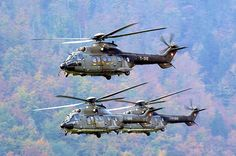 4eme REGIMENT D'HELICOPTERES DES FORCES SPECIALES ( 4eme RHFS) - Cougar Military Helicopter, Military Aircraft, Luftwaffe, Stol Aircraft, Swiss Air, Military Equipment, Choppers, Airplanes, Air Force