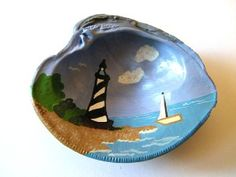 painted shell - New thing for Shari to try