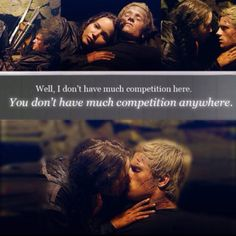 The Hunger Games quote.