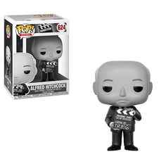 Funko Pop Directors: Alfred Hitchcock Collectible Figure From movies, Alfred Hitchcock, as a stylized pop vinyl from Funko! figure stands 3 inches and comes in a window display box. Check out the other movies figures from Funko! Alfred Hitchcock, Captain Underpants, Mia Wallace, Norman Bates, Pet Sematary, Skull Island, Scott Pilgrim, Tommy Boy, Rocky Horror