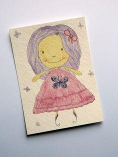 Fairy Watercolour ACEO Original