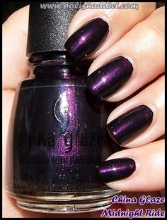 China Glaze Midnight Ride