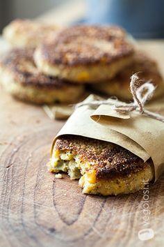 Burger vegani di zucchine