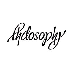 ambigram / John Langdon - Philosophy