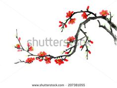 Chinese element--plum blossom