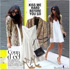 Snake skin blazer by never-alone on Polyvore featuring polyvore, fashion, style, Ramy Brook and Bela