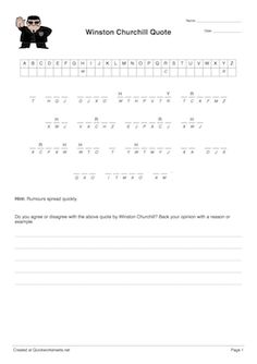Printable cryptograms Puzzles   FourValentine cryptogram puzzles     Quickly make Cryptogram Puzzle worksheets using this online worksheet maker