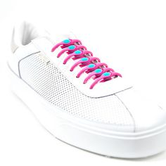 Elastic Laces Pink Blue 14Pk by Hickies