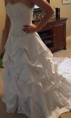 Oleg Cassini CT291: buy this dress for a fraction of the salon price on PreOwnedWeddingDresses.com