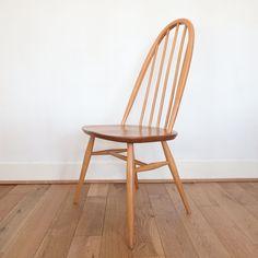 Vintage retro  Ercol  Original Hoopback Quaker Windsor  Dining  Chairs