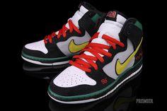 "Nike SB Dunk High ""McRad"" ---- so fly!"