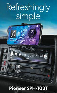 Pioneer Digital media receiver (does not play CDs) at Crutchfield Pioneer Car Stereo, Car Audio Systems, Car Gadgets, Pontoon Boat, Truck Accessories, Chevy Trucks, Custom Cars, Dream Cars, School Design