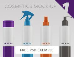 """Check out this @Behance project: """"Cosmetics Packaging Mock-up / 300ml - 350ml"""" https://www.behance.net/gallery/29491769/Cosmetics-Packaging-Mock-up-300ml-350ml"""