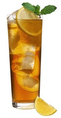 Long Island Iced Tea and a recipe list for many many drinks