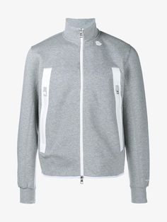 MONCLER Zip-Up Sweatshirt. #moncler #cloth #