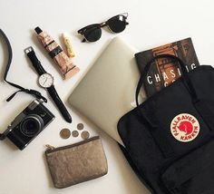 What's in my kanken backpack #travel #daily