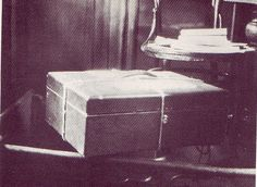 The box containing Sokolov's report which detailed what happened to the Tsar and his family.