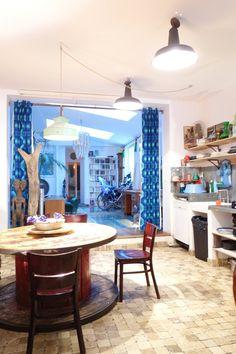 Adrienne & Benjamin's Renovated Printing Factory Home in Paris