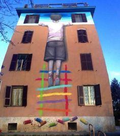 Street art a Tor Marancia, su Corriere Sociale