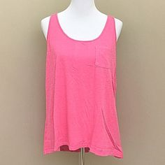 "Lucky Brand Lotus Yoga Crossover Berry Tank Top Boho berry color tank top is the perfect top for sunny summer days! Versatile, yoga-inspired tank top featuring a scoop neck, crossover back, shirttail hem and single front pocket. Perfect with any outfit! Hangs longer in back then front- approx 25"" front 29""long back. Brand new with tags! Lucky Brand Tops Tank Tops"