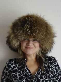 Vintage Couture Tanuki Fur Hat on Etsy, $418.04 CAD