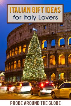 Italian Gift Guide for everyone who loves Italy. Do you need to shop for an Italy-lover in your life? Look no further with these great gift idea that have an Italian theme. From amazing food, handycraft and inspirational ideas for the ultimate Italian gift! #giftguide #italiangift #italy #ladolcevita #italiangifts