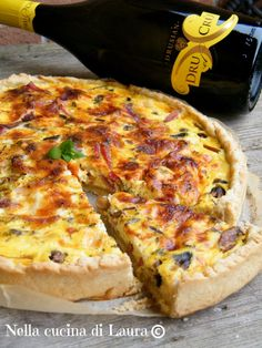 Strudel, Italian Cooking, Italian Recipes, Quiches, Keto Recipes, Cooking Recipes, Cold Dishes, Buffet, Antipasto