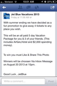 Facebook Contest Spoof Fools 1K in One Day