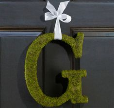 Moss Covered Letter You Choose Letter Moss Monogram Ampersand Rustic Alphabet Garden Wedding Initials Moss Decor Shabby Chic Event by SparkleSoiree on Etsy Moss Covered Letters, Moss Letters, Monogram Wreath, Monogram Letters, Door Monogram, Ampersand Sign, Monogram Fonts, Monograms, Ceremony Decorations