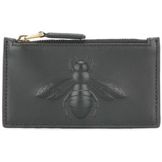 9309946c5c96 Gucci bee embossed card case (485 CAD) ❤ liked on Polyvore featuring men s  fashion