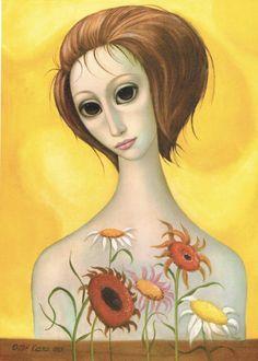 femmes artistes peintres women artists painters : Margaret Keane (1927)