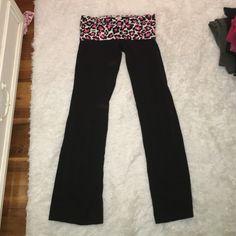 Victoria's Secret yoga pants Good condition PINK Victoria's Secret Pants