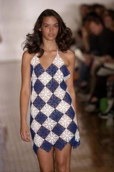 Any inspirations Croche with Lucy- Example of square used for this sundress also on this board