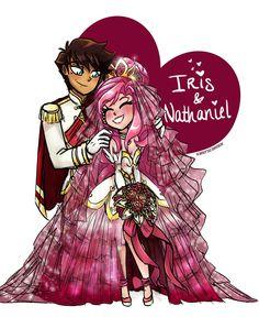 Wedding Bliss: Nathaniel and Iris (LoliRock)