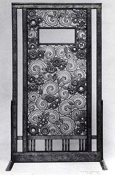 """The Metropolitan Museum of Art - """"Perse"""" (""""Persia"""") Door  Edgar Brandt France 1923"""