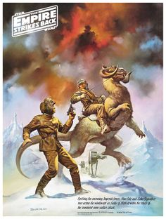 The Empire Strikes Back Coca-Cola Poster (Boris Vallejo)