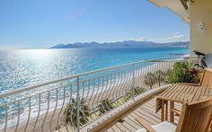 Cannes Penthouse View - A Clients terrace.