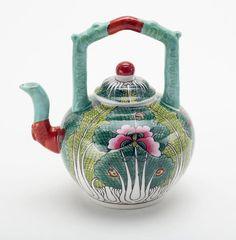 Bok Choy tea pot