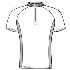 Modelos de ropa patrones para todas las tendencias Remera ciclismo SR 6023 HOMBRES Remeras