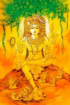 Spiritual Stories As Told by Ramana Maharshi Shiva Parvati Images, Shiva Hindu, Shiva Shakti, Hindu Art, Hindu Deities, Hinduism, Lord Ganesha Paintings, Lord Shiva Painting, Om Namah Shivaya