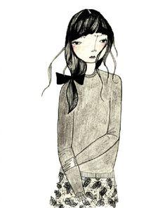 KT Smail delicadas ilustraciones 9