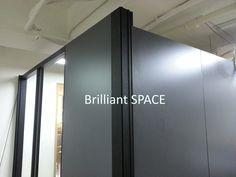 Glass System Wall 黃竹坑IT公司 (雙面板不上頂屏風) 2