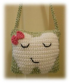 Pattern Crocheted Tooth Fairy Pillow Boy or by ThoughtsKnotsStitch, $5.00 ---TOO CUTE!!