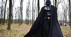 In Pictures, Darth Vader Running for President of Ukraine