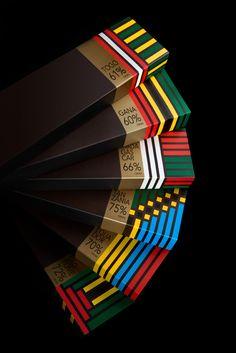 Origens Chocolate. Repinned by www.strobl-kriegner.com #branding #packaging #design #creative #marketing